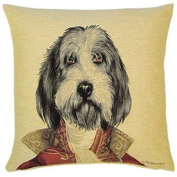 """Thierry Poncelet Griffon"" Tapisserie Belge coussin"