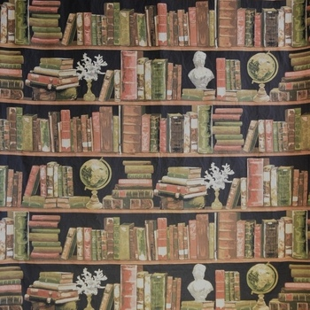 """Wall tapestry books 145 x 200cm"" Belgian tapestry wallhanging"
