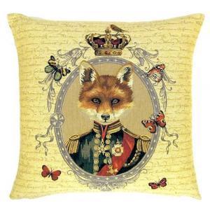 """""""Funky fox"""" Tapisserie Belge coussin"""