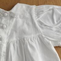 Handmade lace baby romper 3 maand