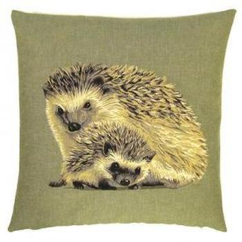 """""""Hedgehog"""" Belgian Tapestry cushion"""