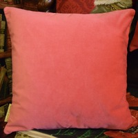 """""""Thierry Poncelet dalmatier pink"""" Belgian Tapestry cushion"""