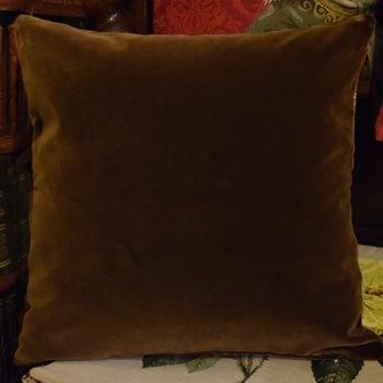 """Hunting scene"" Belgian Tapestry cushion"