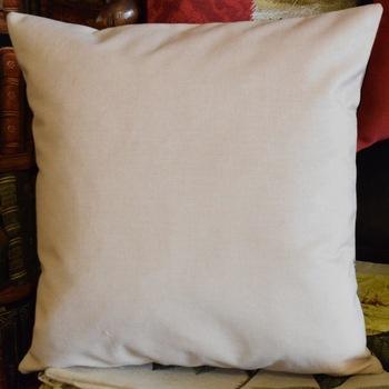 """Guinea pig (grey) ""  Belgian Tapestry cushion"