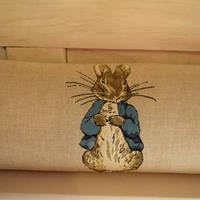 """Beatrix Potter II 25x90 cm """"Belgische tapisserie kussen"""""""