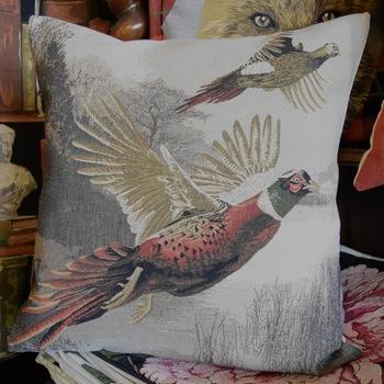 "Phaesant ""Belgium Tapestry cushion"""