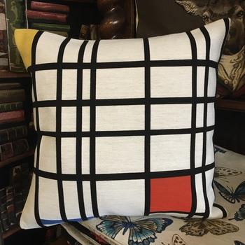 "Piet Mondriaan - Composition Red Yellow & Blue 1921 ""Belgium Tapestry cushion"""