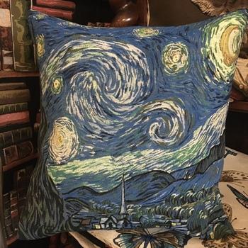 "Lady mops black ""Belgium Tapestry cushion"""