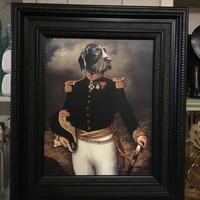 """""""Thierry poncelet"""" portrait de chien reproduction"""