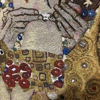 Tapisserie murales, Gustav Klimt. Le baiser