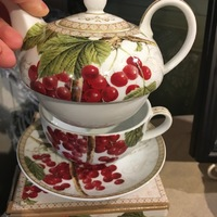 Winter berries Tea for one