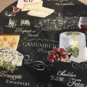 Plateau à fromage rond