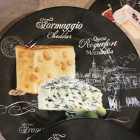 Assiettes à fromage 4 pcs
