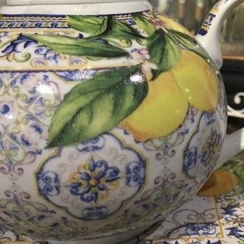 Theepot citroen
