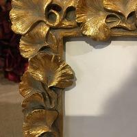 Golden frame leaves 2