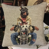 Born to be dog II pillow  Belgium Tapestry cushion