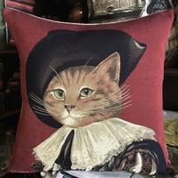 """Kat Rembrandt """"Belgische tapisserie kussen"""""""
