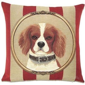 """Cavalier King Charles"" Belgium Tapestry cushion"