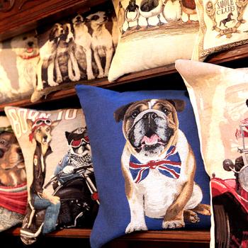 Belgian Tapestry cushions