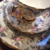 Porcelain teacups - Huis de zomer -bruges
