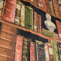 Belgische tapisserie wandtapijt boeken_Huis de zomer_Brugge