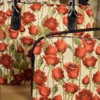Belgium tapestry handbags - Huis de zomer - Bruges